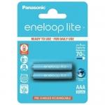 Аккумулятор PANASONIC Eneloop Lite AAA 550 mAh/2B /