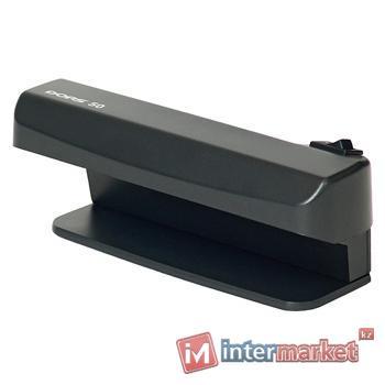 Ультрафиолетовый детектор валют (банкнот) DORS 50 (черный)