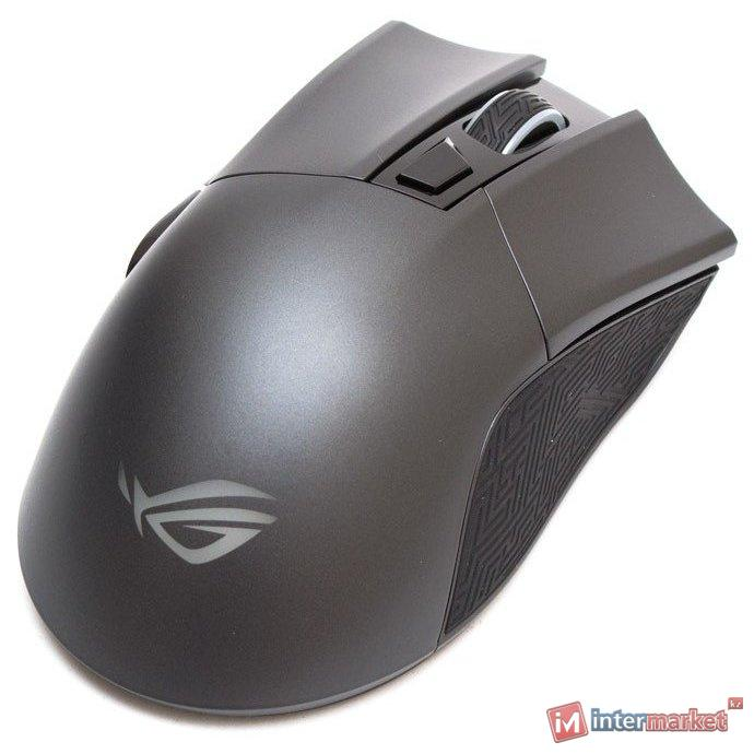 Игровая мышь ASUS P507 ROG GLADIUS II CORE/MS,3327, 6BUTTONS,6200PI 90MP01D0-B0UA00